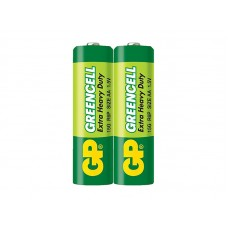 Baterija AA 1.5V R6 GP Greencell (2 vnt.)
