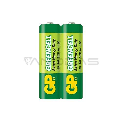 Battery AA 1.5V R6 GP Greencell (2 pcs.)