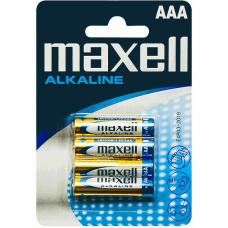 Baterija AAA 1.5V LR03 MAXELL (4 vnt.)