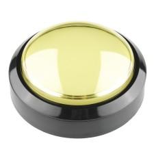 BIG Push Button 10cm - geltonas