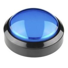 BIG Push Button 10cm - mėlynas