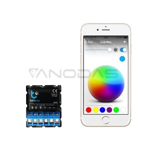 Blebox lightBox - LED juostų Bluetooth valdiklis