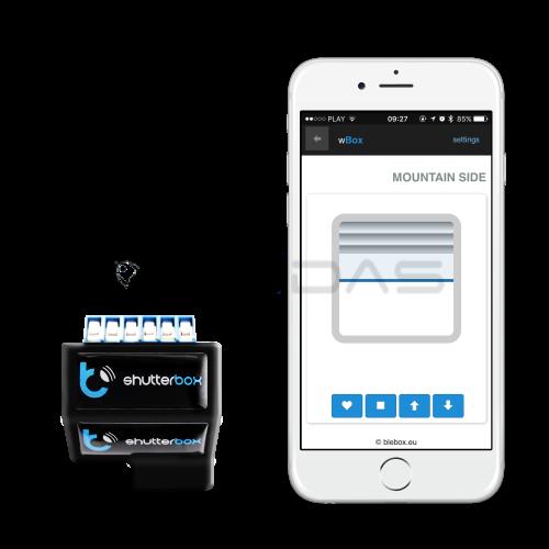 Blebox ShutterBox - Elektrinių roletų WiFi valdiklis