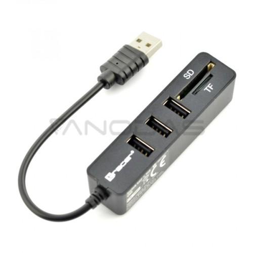 All-in-one Tracer USB Hub atminties kortelių modulis