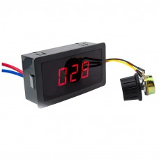 Adjustable DC 6V-30V 5A PWM Speed Controller with Display