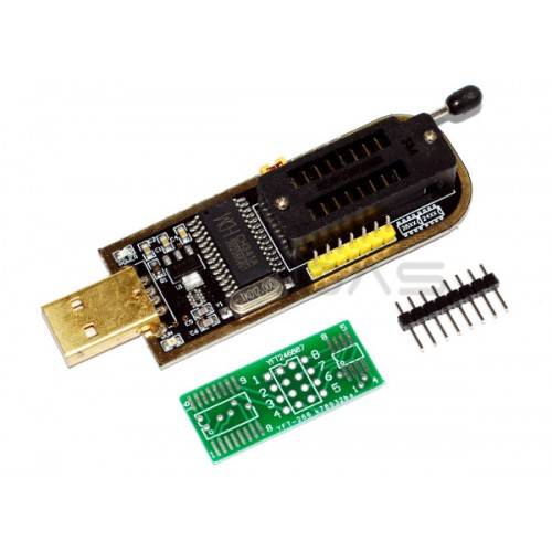 CH341A Gold SPI flash programatorius