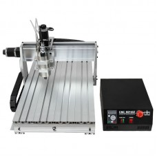 CNC frezavimo staklės CNC 6040Z - S15 - 3D