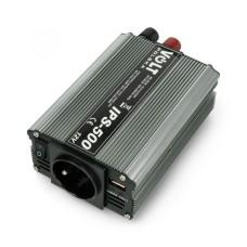 Inverteris Volt IPS-500 12VDC / 230VAC 350/500W