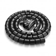 UGREEN LP121 Protection Tube DIA 25mm 1.5m - Black