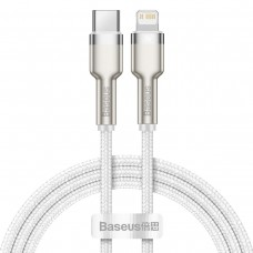 Baseus Cafule USB-C cable for Lightning PD 20W 1m - White