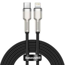USB-C cable for Lightning Baseus Cafule PD 20W 2m - Black