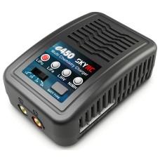 SkyRC e450 įkroviklis skirtas 6-8S LiPo / LiFe / LiHV 2-4S / NiMH