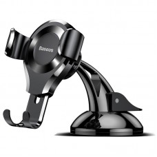 Baseus Osculum gravitational phone holder - Black