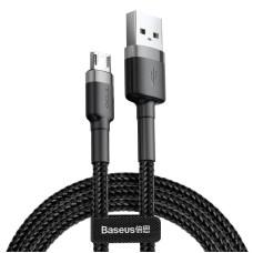 Baseus Cafule Micro USB cable 2.4A 1m - Gray / Black