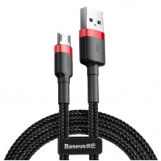 Baseus Cafule Micro USB cable 1.5A 2m - Red / Black
