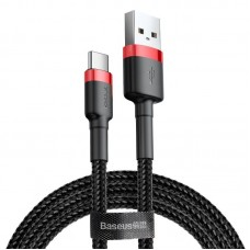 Baseus Cafule cable USB-C 3A 0.5m - Red / Black