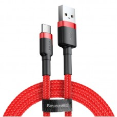 Baseus Cafule kabelis USB-C 2A 2m - Raudonas