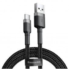 Baseus Cafule cable USB-C 2A 2m - Grey / Black