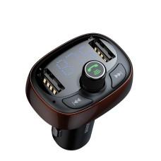 Baseus FM moduliatorius Bluetooth USB microSD - Rudas