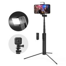 BlitzWolf BW-BS8 Selfie Stick 3in1 trikojis su lempa