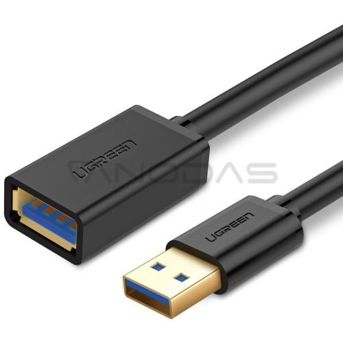 UGREEN USB 3.0 prailginimo laidas 1.5 m - Juodas