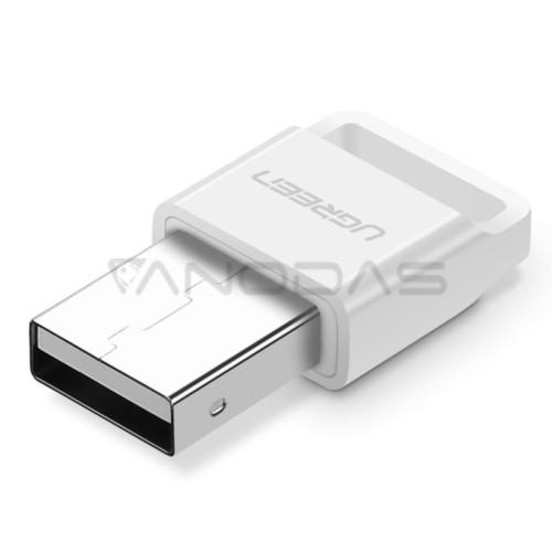 UGREEN USB Bluetooth adapteris 4.0 Qualcomm aptX - Baltas