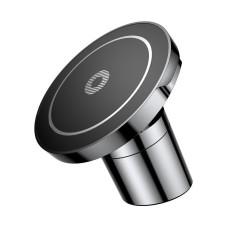 Baseus magnetinis automobilinis laikiklis su belaidžiu įkrovimu - Juodas