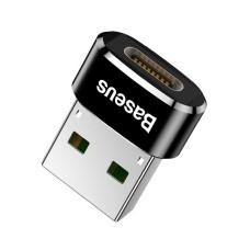 Baseus USB-C į USB-A adapteris 5A - Juodas