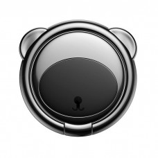 Baseus Bear Ring holder for phones - Black