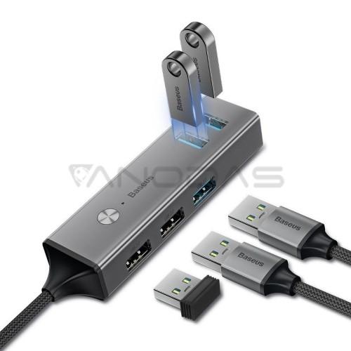 Baseus USB HUB adapteris 3x USB 3.0 + 2x USB 2.0