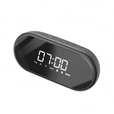 Baseus Encok E09 Wireless Bluetooth Speaker / clock - Black
