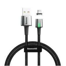 Baseus Zinc Magnetic USB type C Cable 3A 1m (Black)