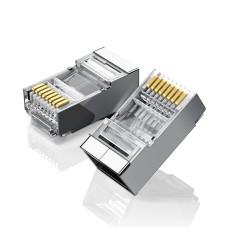UGREEN Ethernet RJ45 Metal plug, 8P/8C, Cat.6, UTP (10pcs.)