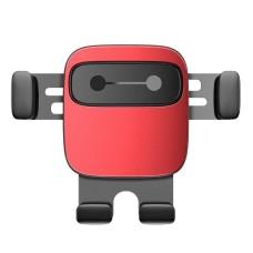 Baseus Cube Gravitational car holder on ventilation grid - Red