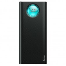 Baseus Amblight PD3.0 greito įkrovimo Power Bank 20000mAh - Juodas