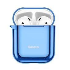 Baseus Shining Hook dėklas Apple AirPods - Mėlynas