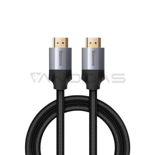 Baseus Enjoyment serija HDMI kabelis 2.0 4K 3D 1m - Pilkas