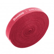 Baseus Rainbow Circle Velcro Straps 3m - Red