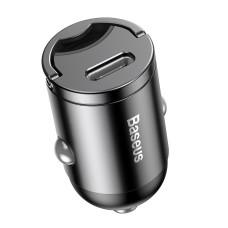 Baseus Tiny Star Mini PPS Car Charge Type-C Port 30W - Grey