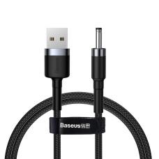 Baseus Cafule Kabelis USB į DC 3.5mm 2A 1m - Pilkas / Juodas