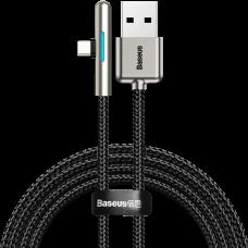 Baseus iridescent Lamp HW flash kabelis USB-C 40W 1m - Juodas