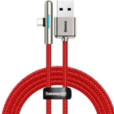 Baseus iridescent Lamp HW flash kabelis USB-C 40W 1m - Raudonas