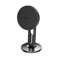 Baseus Hollow Magnetic Car Mount Holder with clamping function (Vertical type) - Black