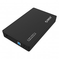 "Hard Drive Enclosure HDD 3.5"" Orico SATA + USB 3.0 1M cable"