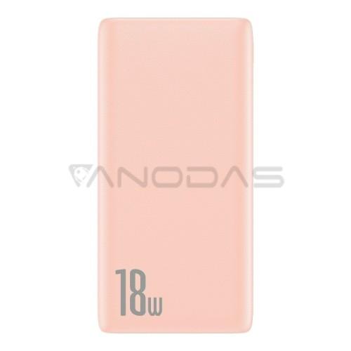 Baseus Bipow greito įkrovimo Power Bank PD + QC 10000mAh 18W - Rožinis