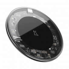 Baseus Simple Wireless Charger 15W - Transparent