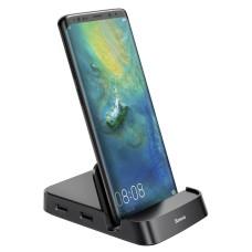 Baseus Mate USB Type-C Hub stotelė mobiliesiems telefonams
