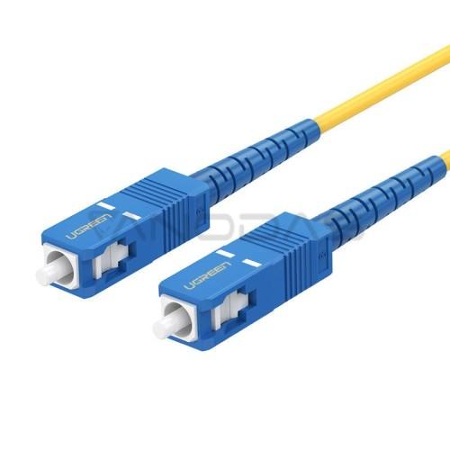 UGREEN Optinis / šviesolaidis kabelis SC / UPC NW131 3m - Mėlynas