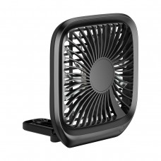 Baseus Foldable Vehicle-mounted Backseat Fan - Black