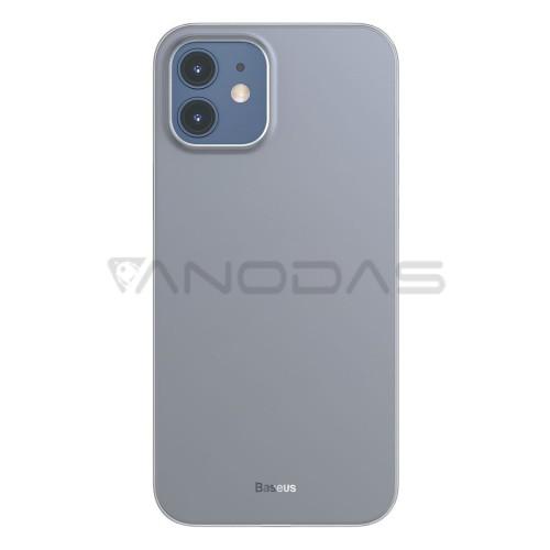 Baseus Wing dėklas iPhone 12 Mini - Baltas